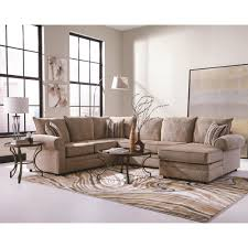 Living Room Sectionals With Chaise Coaster Fairhaven Cream Colored U Shaped Sectional With Chaise