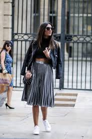 in a fresh new take on a classic look federica l has paired this