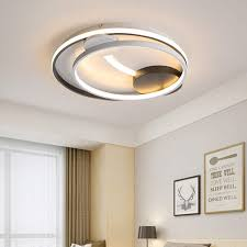 Modern Fluorescent Lights Kitchen Round 32w Led Sitting Room Ceiling Lights Dimmable 3000k