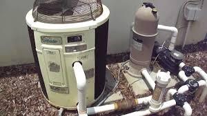 How To Install A Heat Pump Heat Pump Pool Heater Hayward Cartridge System Youtube