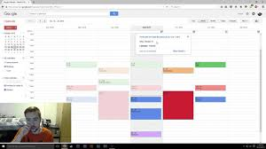 Google Calendar Top Tips Welcome To College Youtube