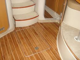 teak and holly plywood deck