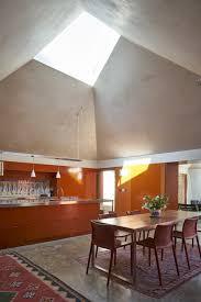 skylight lighting. Chair, Table, Pendant Lighting, Concrete Floor, Windows, And Skylight Window Type Lighting