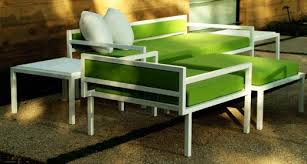 lime green patio furniture. And Their Lime Green Pale Powder Blue Upholstery Colors Are Chic Patio Furniture N