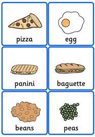 Food Flash Cards Free Food Flashcards