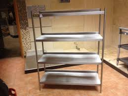 Stainless Steel Shelves Secondhand Catering Equipment Shelves And Storage Racks 3x