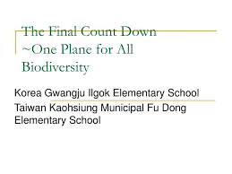 Ppt The Final Count Down One Plane For All Biodiversity