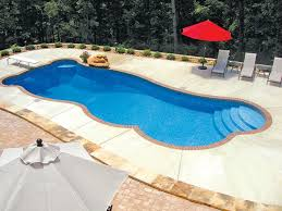 venice freeform inground fiberglass pool 3