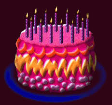 animated birthday cake with candles. Birthday Cake Candles GIF For Animated Birthday Cake With Candles