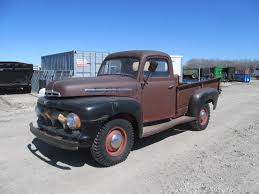 Barn Find: Mostly Complete 1953 Ford F3 Pickup Truck F1/F2... NO ...