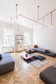 livingroom lighting. Copper And Home: Batlab Remodels House With Web-lights In Budapest Livingroom Lighting