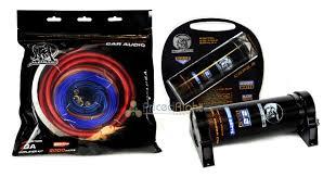 bullz audio bcap2 2 farad capacitor amp epak4r 4 gauge amp bullz audio bcap2 2 farad capacitor epak4r 4 gauge amp wiring kit bge4rp combo