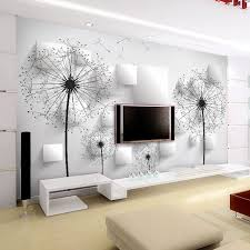 room elegant wallpaper bedroom: elegant dandelion wallpaper d photo wallpaper natural scenery wall mural art room decor club bedroom tv