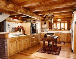 Rustic Decorating With Natural Wood
