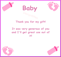 Thank You Cards Baby Shower Baby Shower Thank You Cards Designeffex