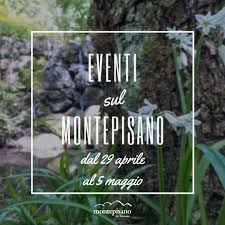 Eventi dal 29 aprile al 5 maggio 2021 - Monte Pisano