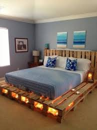 king size pallet bed our famous handmade kingsize pallet bed picture of california