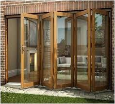 Inspirational Folding Patio Door And Folding Patio Door With Wooden