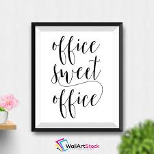 wall art for the office. Printable Office Sweet Wall Art Decor Wall Art For The Office
