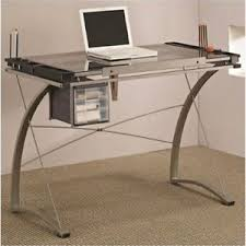 Artist Drafting Table Desk With Supply Storage Coaster Furniture 800986