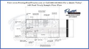food truck floor plans. 14-foot-food-truck-floor-plan-Prestige-food- Food Truck Floor Plans