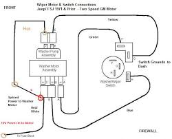 wiper motor swap newer style on older style truck this is how the older style gm 2 speed wiper motors work