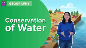 how can we conserve water best and