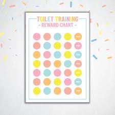Toilet Training Reward Chart Pink