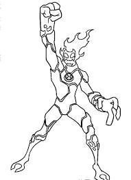 Small Picture Amazing of Extraordinary Ben 10 Coloring Pages Printable 7211