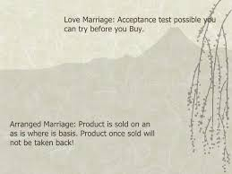 love vs arranged marriage love marriage