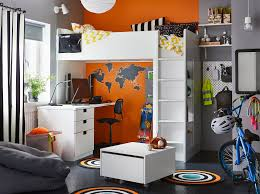 ikea childrens furniture bedroom. a black grey orange and white bedroom for child in their pre ikea childrens furniture