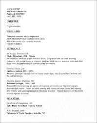 Flight Attendant Resume Templates Magnificent Flight Attendant Resume Flight Attendant Resume Resume Templates For
