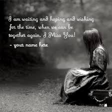 i miss you sad name pix