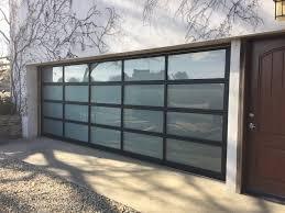 36 Overhead Garage Door Glass Panels, Industrial Style Glass Garage ...