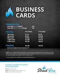 Business Card Graphic Design Prices Choice Image Desi On Brochure