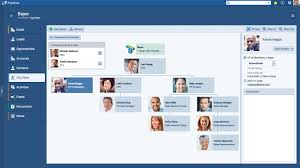 Org Chart Map Decision Makers On Account Pipeliner Crm