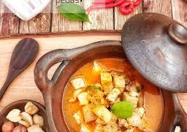 Tambahkan air secara bertahap dan aduk hingga tepung menjadi kental. Resep Sayur Lodeh Tahu Tempe Pedas Yang Enak