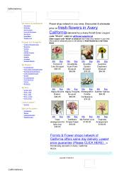 Avery Flowers and Florists - Online Discount Flower Shop
