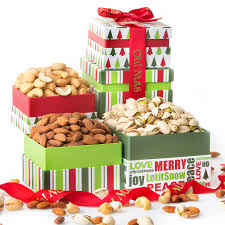 oh nuts gourmet nuts gift basket tower holiday fresh gourmet nut ortment gifts for men woman or family