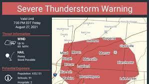 Cincinnati weather: Thunderstorm ...
