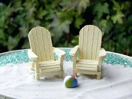 exceptional miniature chair cream off white fairy beach garden supply coastal accessories miniature beach chair fairy garden supplies pictures ideas