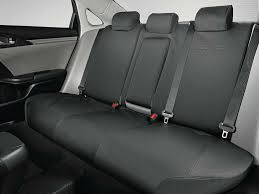 car seat covers black with red trim