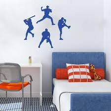 sports themed kid s room wall decals