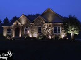 ideas simple image of with best night lights images on best front yard landscape lighting