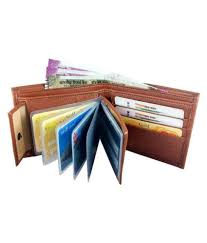 YGREEN Synthetic <b>PU Leather Men's</b> wallet (Tan): Buy Online at ...