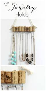 Jewelry Organizer Diy Best 20 Diy Jewelry Holder Ideas On Pinterest Diy Jewelry