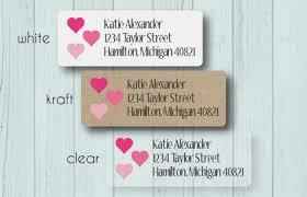 Wedding Rings Return Address Labels Personalized Wedding Etsy