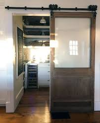 home design ideas kitchen pantry sliding glass and wood barn door