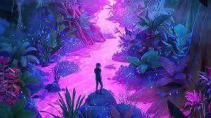 Neon Jungle Art 4k, HD Artist, 4k ...