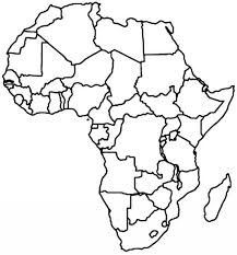 Empty Africa Map Africa Coloring Map Africa Map X Pixels Within